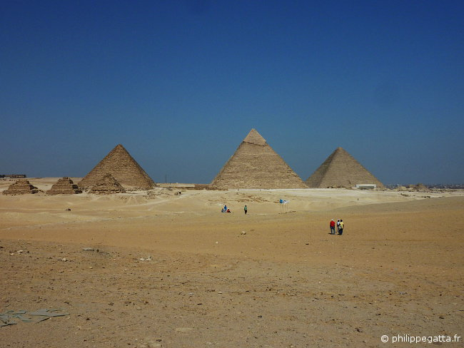 The last stage of Sahara Race at Giza Pyramids (� P. Gatta)