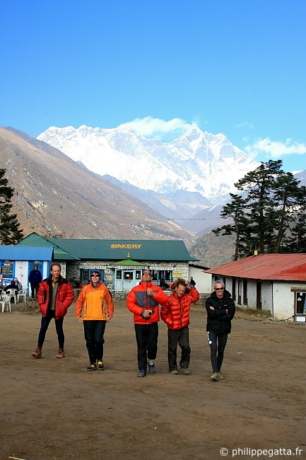 Tengboche with Lhotse and Everest in the background (� P. Gatta)