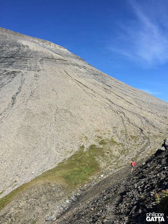 To Col du Vieux and Cheval Blanc (© A. Gatta)