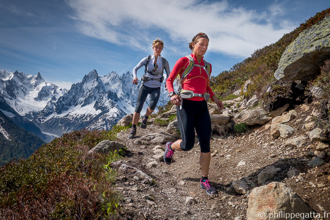 Trail of Grand Tour du Mont Blanc (© P. Gatta)