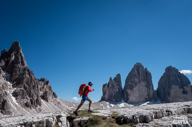 Traverse of the Alps - Tre Cime di Lavaredo (© A. Gatta)