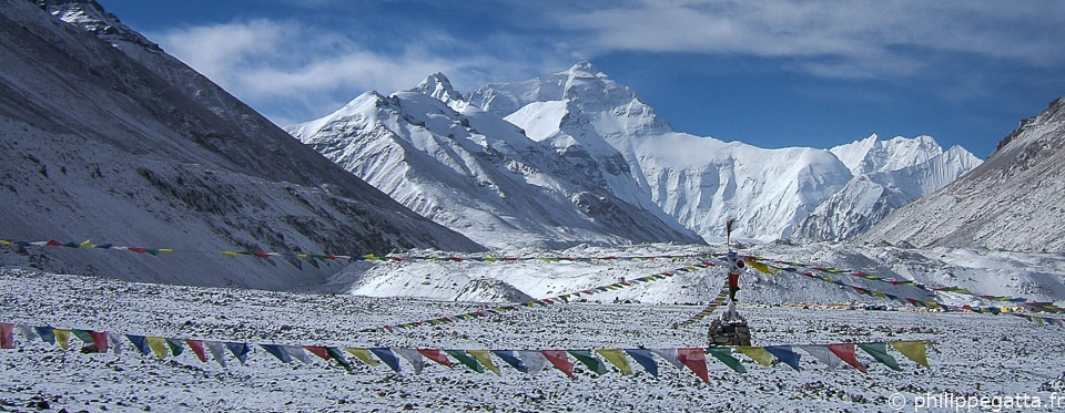 Mount Everest from the Base Camp (© P. Gatta)