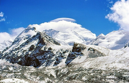The Cho Oyu after the storm (© P. Gatta)