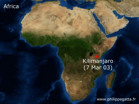 Where Is Mt Kilimanjaro On A Map Of Africa Stillwonder