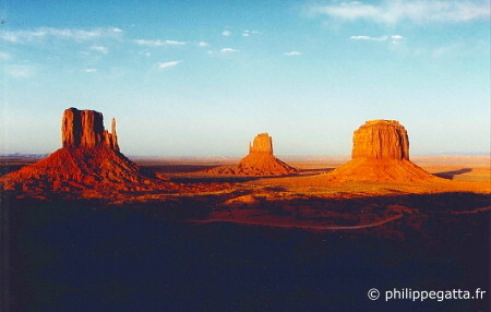 Totem Pole Race: Monument Valley (© P. Gatta)