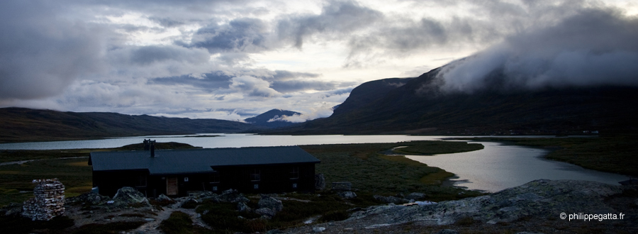 Kungsleden: view from the Alesjaure huts (© P. Gatta)